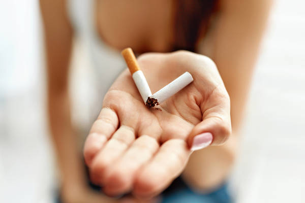 arret tabac acné