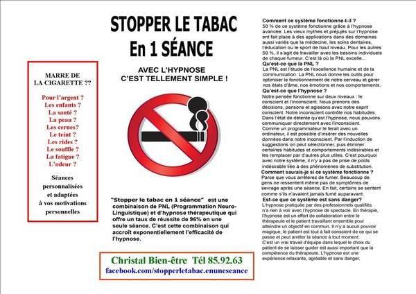 arreter le tabac sans substitut
